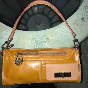 Isaac Mizrahi Live Awesome Mini Bag!  Leather.
